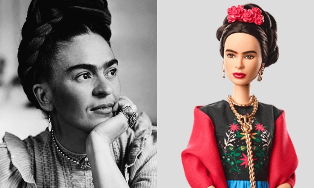 A artista mexicana Frida Kahlo, morta em 1954 Foto: Divulgação /Barbie