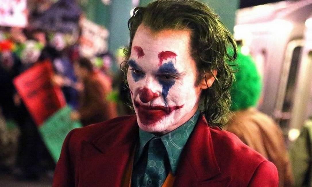 'Coringa': Com previsão de estreia para 3 de outubro, traz Joaquin Phoenix no papel do vilão que é quase um herói para os fãs de Batman. Foto: Divulgação