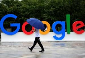 Falha no navegador Chrome, do Google, está sendo explorada por hackers Foto: Aly Song / Reuters