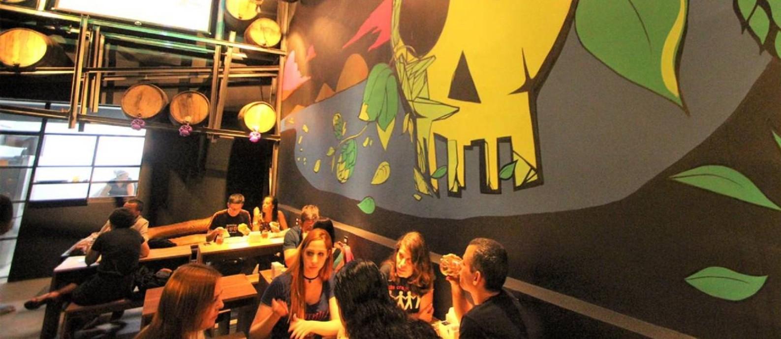 Pé Limpo: OverHop Experience, 12 novas torneiras em Botafogo Foto: Divulgação