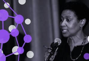 Phumzile Mlambo- Ngcuka, diretora executiva do ONU Mulheres Foto: ONU Mulheres / Arte