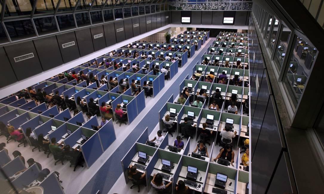Projeto de lei prevê criação de cadastro para bloqueio de ligações de telemarketing Foto: Custódio Coimbra/Arquivo