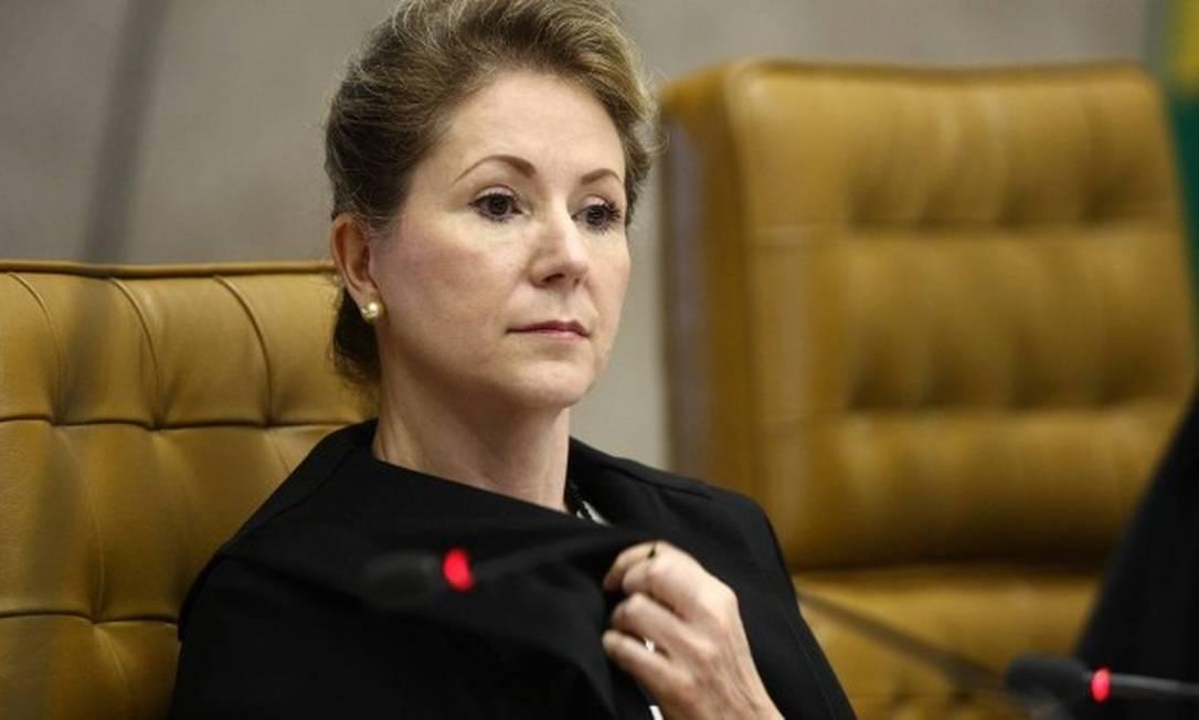 Ellen Gracie foi também a primeira mulher a presidir o tribunal, em 2006 Foto: Ailton de Freitas / Agência O Globo