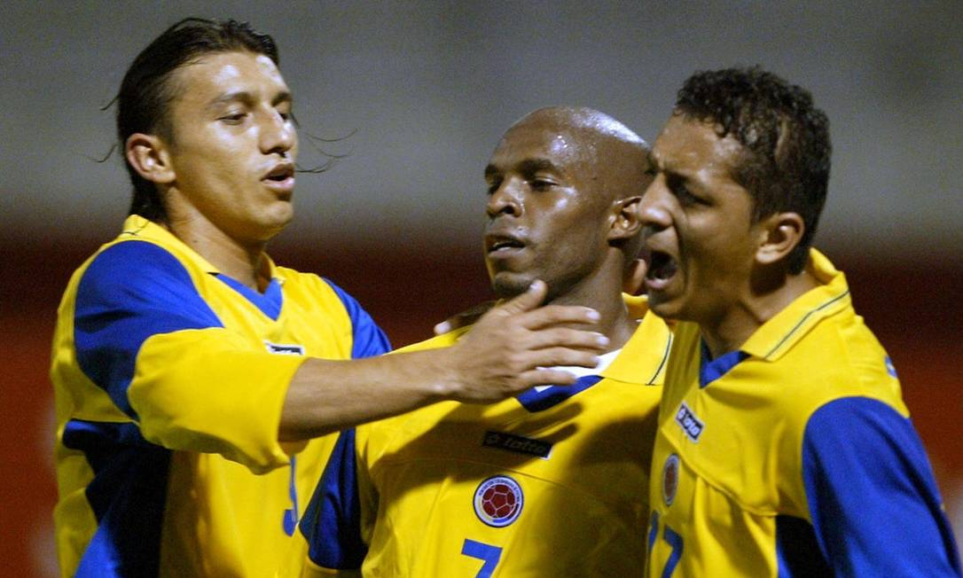 A última da prateleira com um título a conquistar a Copa América, a Colômbia levantou a taça em 2001 Foto: Yuri Cortez / AFP