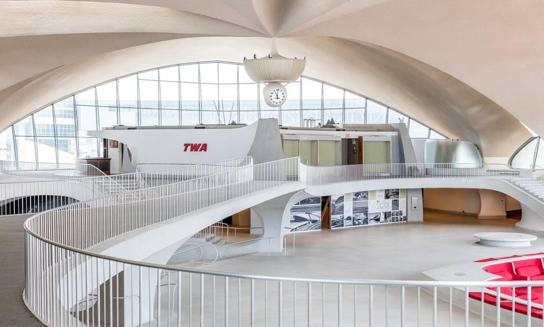 """No prédio principal funcionarão seis restaurantes, oito bares, lojas e um museu dedicado aos """"anos dourados"""" da aviação comercial Foto: Max Touhey / Divulgação"""