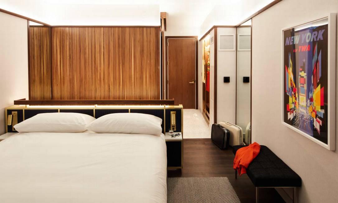 O hotel só abre em 15 de maio, mas já é possível fazer reservas. As diárias começam em US$ 215 Foto: Divulgação