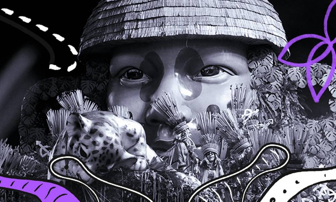"""A Mangueira foi campeão do carnaval carioca contando as histórias de personagens """"esquecidos"""" pela historiografia oficial Foto: Reprodução"""