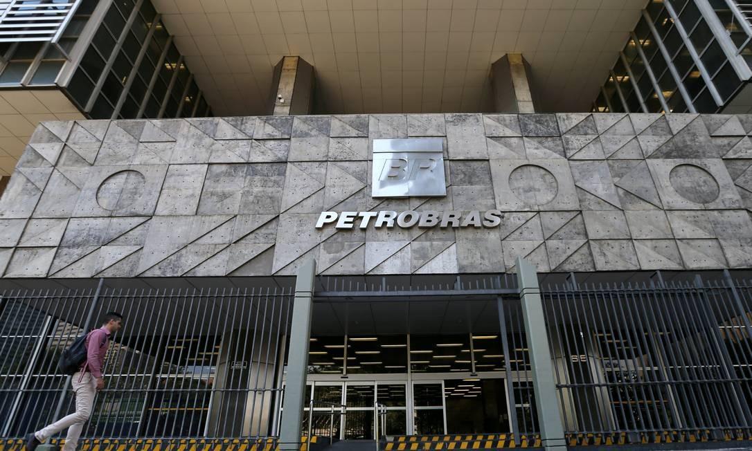 Sede da Petrobras no Centro do Rio Foto: Sergio Moraes/Reuters