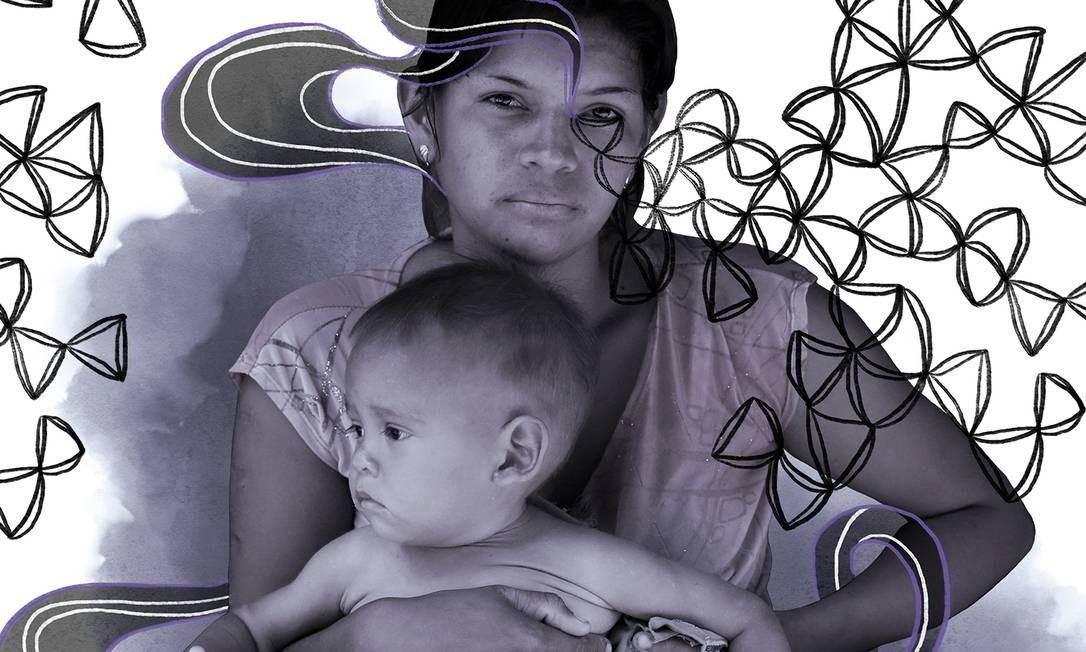 A Venezuela é uma terra na qual as mulheres têm um papel absolutamente decisivo Foto: Arte de Larissa Arantes sobre foto de CARLOS GARCIA RAWLINS