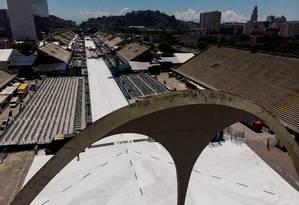 Sambódromo comemorou 35 anos no carnaval 2019 Foto: Brenno Carvalho / Agência O Globo