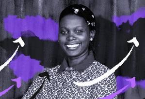 Mariéme Jamme Foto: Arte de Luiz Lopes sobre foto divulgação
