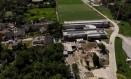 Ninho do Urubu está interditado pela prefeitura por falta de alvará Foto: Agência O Globo