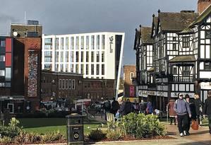Coventry, tradicional polo da indústria automobilística britânica Foto: Vivan Oswald