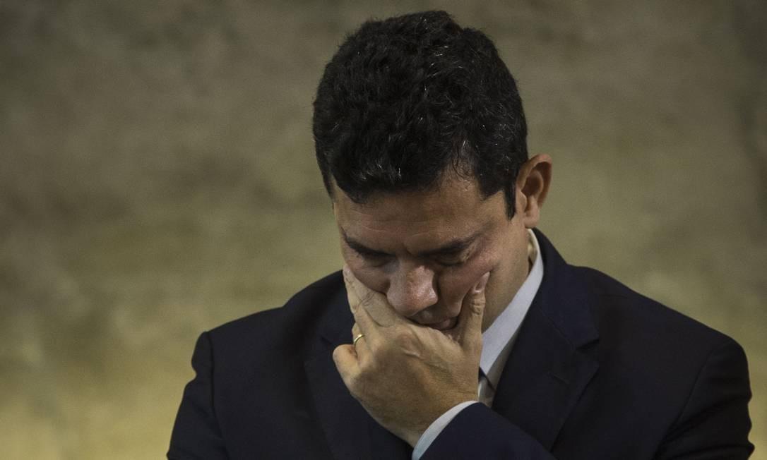 Sergio Moro em novembro de 2018 Foto: Guito Moreto / Agência O Globo