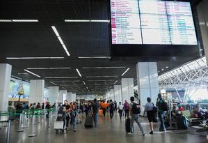 Desvios de R$ 2 milhões em contratos dos aeroportos de Brasília e Natal Foto: José Cruz/Agência Brasil / Agência O Globo