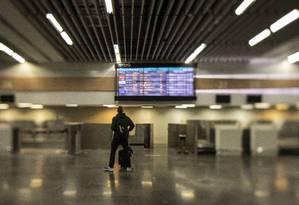 Vantagem competitiva. O Rio tem capacidade ociosa para receber mais voos e melhorou a rede hoteleira, na avaliação da ex-presidente da Embratur Jeanine Pires Foto: GABRIEL MONTEIRO / Agência O Globo