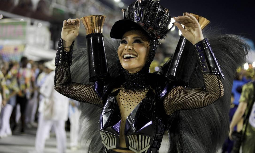 Sabrina Sato, rainha de bateria da Vila Isabel Foto: GABRIEL MONTEIRO / Agência O Globo