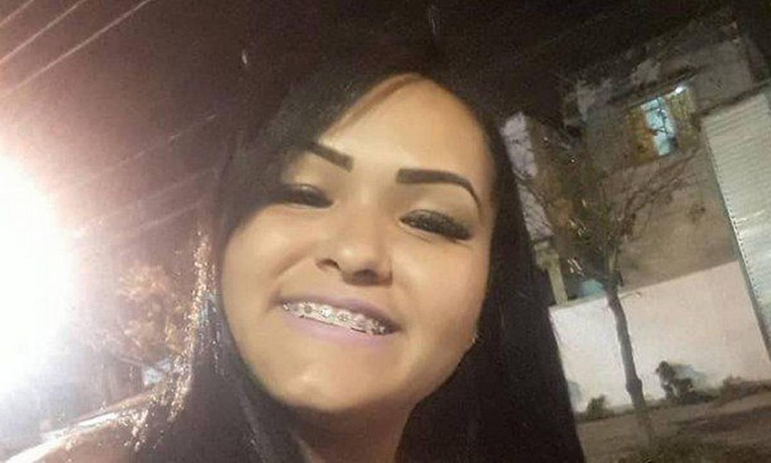 Cabeleireira Carine foi morta na Zona Oeste do Rio Foto: Reprodução/Agência O Globo / redes sociais