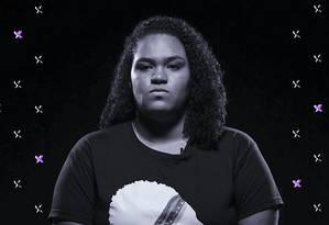 Luyara, filha de Marielle Franco, vereadora (PSOL-RJ) assinada em março de 2018 Foto: Arte de Luiz Lopes