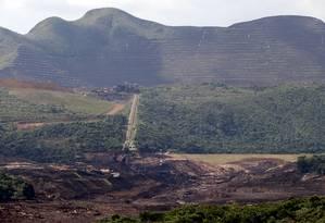 Instalações da Vale em Brumadinho (MG), onde tragédia matou pelo menos 197 pessoas em janeiro Foto: Domingos Peixoto / Agência O Globo