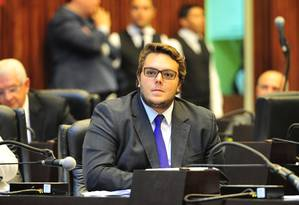 O deputado Felipe Francischini (PSL-PR) presidente da CCJ da Câmara Foto: Divulgação