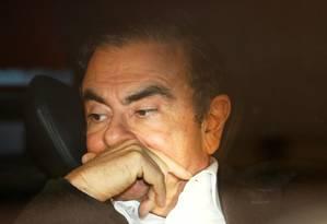 Ghosn deixou a prisão na semana passada após 108 dias de detenção Foto: Reuters
