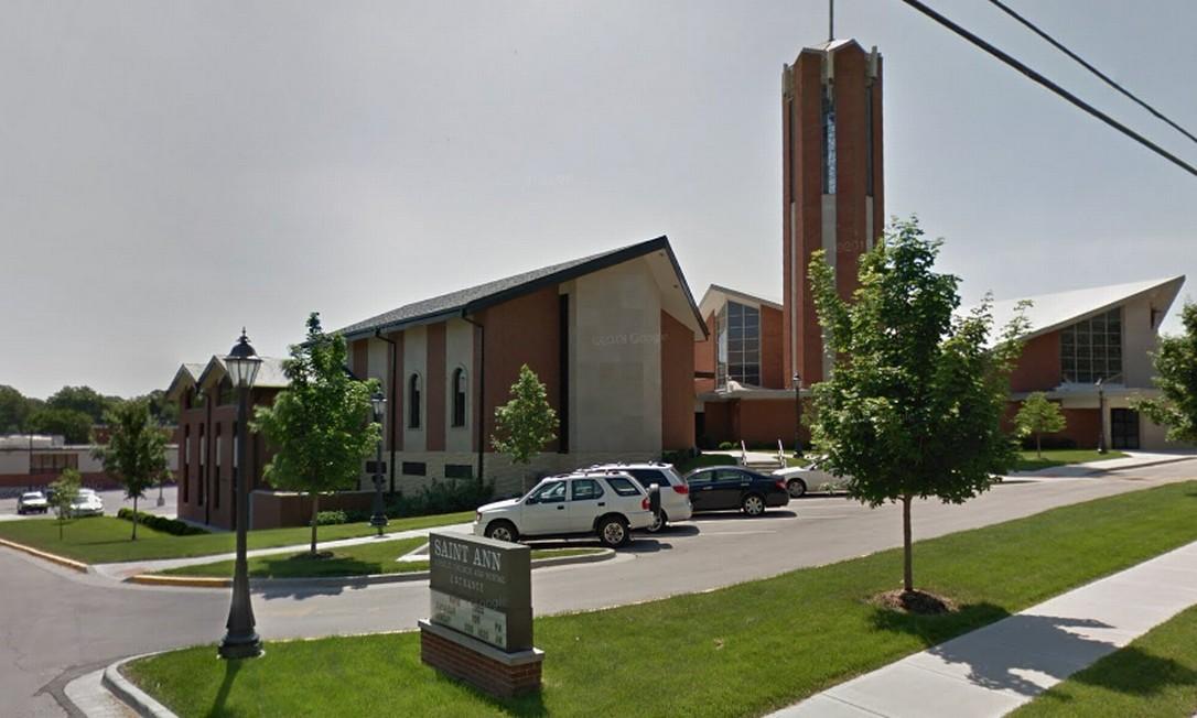 St. Ann School, em Prairie Village, Kansas. Escola recusou criança de pais homossexuais. Foto: Reprodução