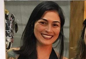 Jane Cherobin, de 36 anos, recebeu alta seis dias após ser agredida pelo namorado Foto: Facebook/Reprodução