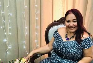 Lucilene Galdino, de 50 anos, foi morta a facadas pelo marido, em Itapipoca, no Ceará Foto: Facebook/Reprodução