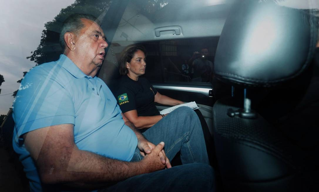 Esta segunda linha de investigação levou os deputados estaduais do MDB Jorge Picciani (na foto), Paulo Melo e Edson Albertassi, adversários políticos de Freixo, a serem investigados. Os três, que na época do crime estavam presos por crimes de corrupção, também negaram envolvimento na morte de Marielle e Anderson Foto: Márcio Alves / Agência O Globo
