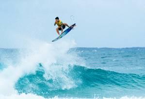 Bicampeão mundial, Gabriel Medina é um dos favoritos ao primeiro ouro olímpico do surfe Foto: Ed Sloane / Divulgação WSL