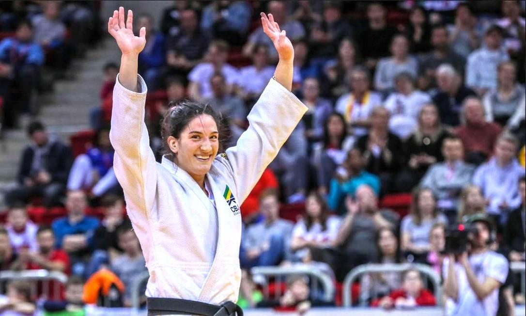 O judô também aposta muito em Mayra Aguiar, bicampeã mundial na categoria até 78kg Foto: Divulgação