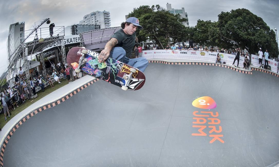 Hexacampeão mundial de bowl, Pedro Barros é um dos grandes nomes do skate, favorito ao ouro em Tóquio Foto: Divulgação