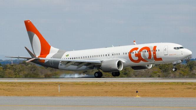Boeing 737 MAX 8 operado pela GOL: voos suspensos após acidente com avião da Ethiopian Airlines Foto: Divulgação