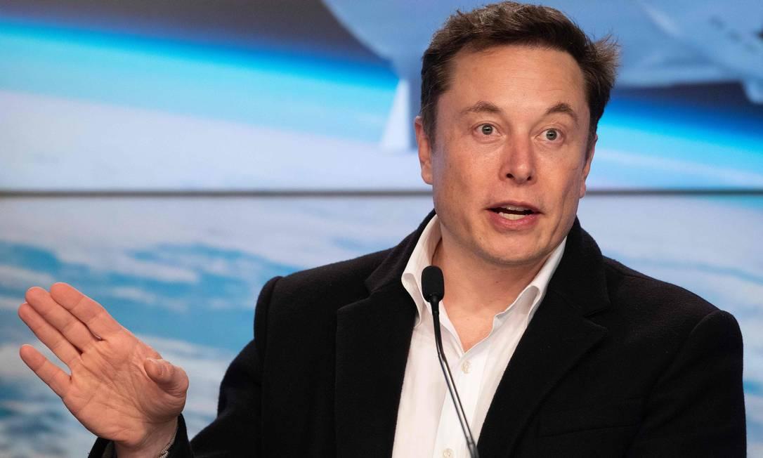 Advogados do presidente da Tesla, Elon Musk, argumentaram que o órgão regulador do mercado financeiro dos EUA ultrapassou seu limite Foto: JIM WATSON / AFP