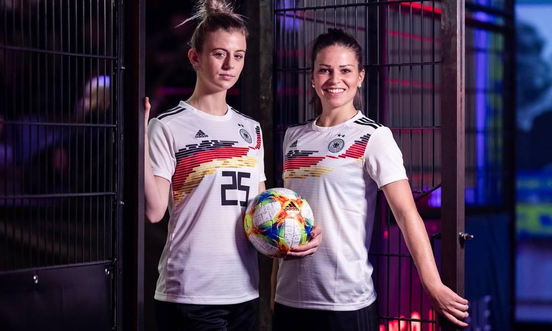 a10da8556b5bb Uniforme será usado pelo time alemão na Copa do Mundo de Futebol Feminino  de 2019