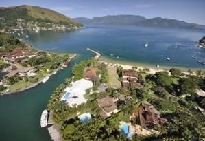 Vista aérea do condomínio Portogalo Foto: Reprodução / Site http://condominioportogalo.com.br