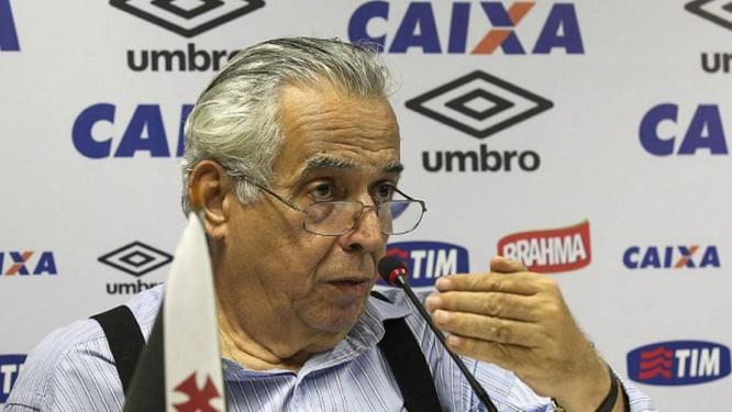 Eurico Miranda não resistiu a um câncer no cérebro Foto: Marcelo Sadio / Divulgação