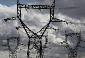 Linhas de transmissão de energia elétrica Foto: Reuters