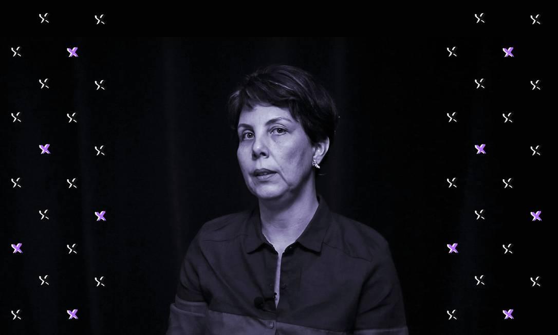 Fernanda Chaves, assessora de Marielle Franco, estava no carro com a vereadora no momento do assassinato Foto: Arte de Luiz Lopes