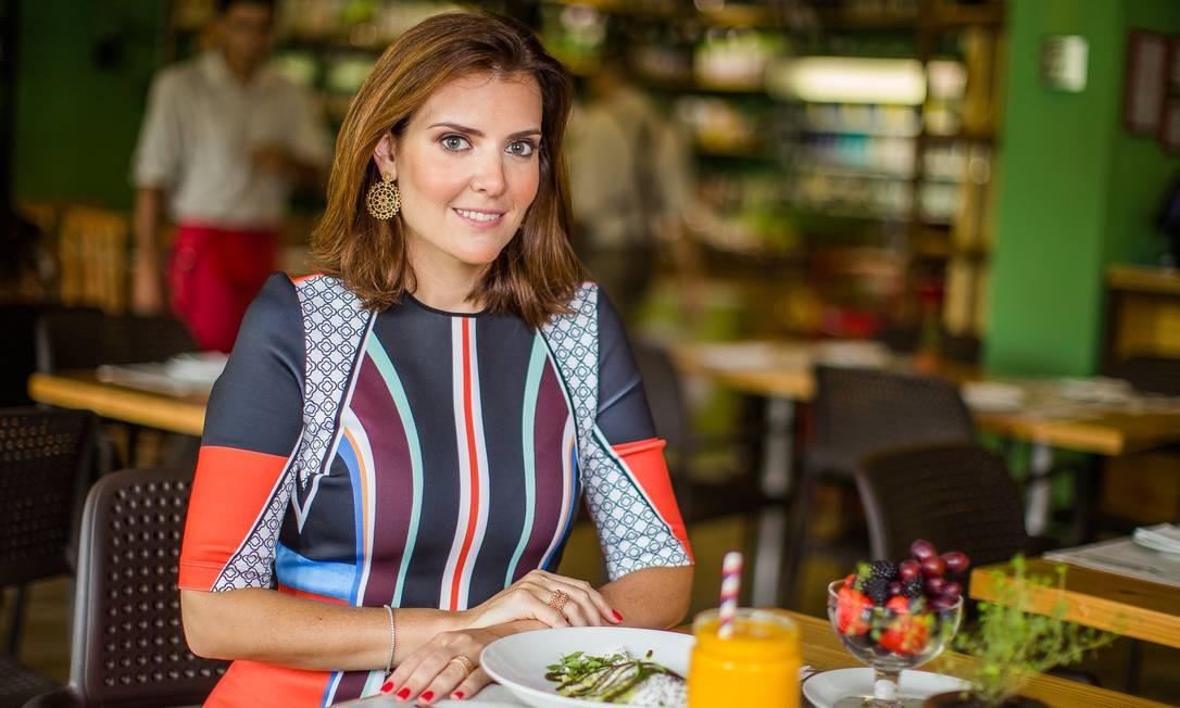 A nutricionista funcional Patricia Davidson Foto: Raul Aragão/divulgação