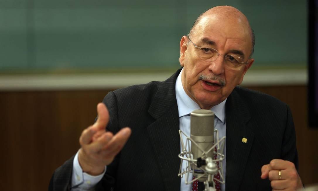 O ministro da Cidadania, Osmar Terra, condus as negociações do programa, com o aval de Guedes. Foto: Marcello Casal Jr./Agência Brasil / .