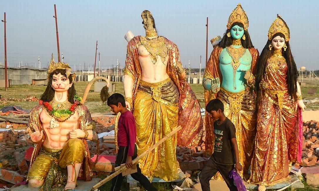 Festival Kumbh Mela Foto: SANJAY KANOJIA / AFP