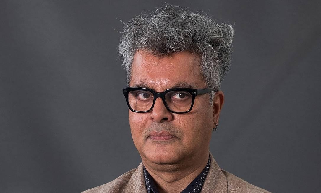 O escritor Amitava Kumar, em 2018 Foto: Massimiliano Donati/Awakening / Getty Images