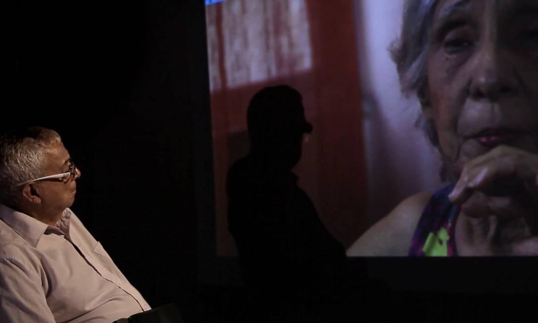 Cláudio Guerra em cena do filme 'Pastor Cláudio', de Beth Formaggini Foto: Divulgação