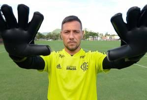 Diego Alves é uma das armas do Flamengo Foto: Alexandre Vidal/Flamengo