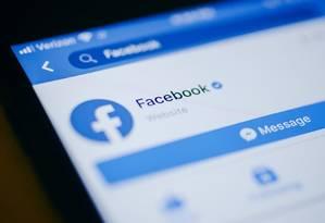 Facebook enfrenta dois processos no Brasil Foto: Bloomberg