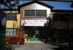 A escola onde ocorreu o tiroteio em Suzano, na Grande São Paulo Foto: Facebook / Reprodução