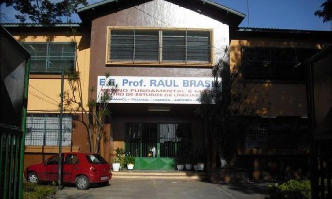 Escola Estadual Raul Brasil em Suzano, na Grande São Paulo Foto: Reprodução / Facebook
