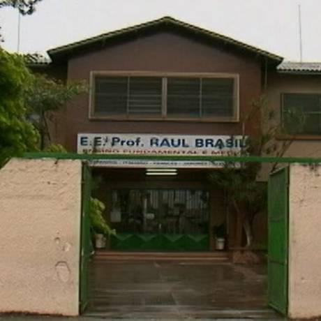 Escola Estadual Raul Brasil, onde pelo menos oito pessoas morreram após ataque de atiradores Foto: Reprodução